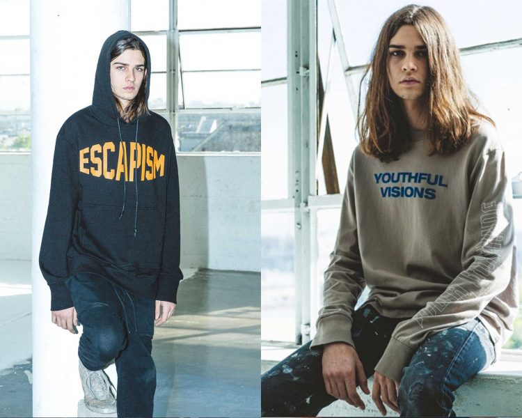 "YOUTH MACHINE ""DARKLY LIT"" SS17 Collection"