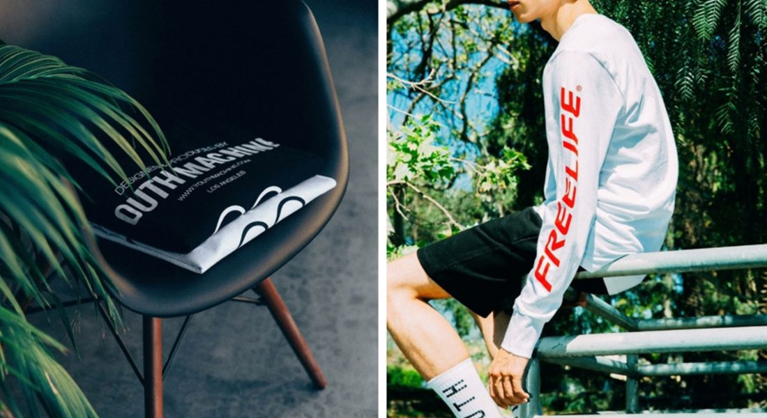 YOUTH MACHINE AND FREELIFE LA SS17 Collection